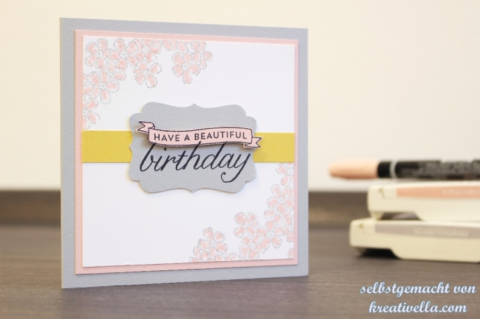 Geburtstagskarte Birthday Blossom_Inkspire-me Sketch Jubiläum