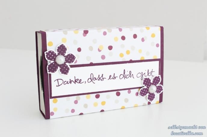 Matchbox Schachtel mit dem Envelope Punch Board EPB und dem DSP Mondschein