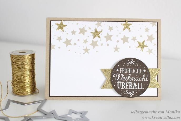 Weihnachtskarte Sterne Perpetual Birthday Calendar Zwischen den Zweigen Naturtöne Neutrals Neutralfarben DIY selbstgemacht selbstgebastelt Stampin' Up!