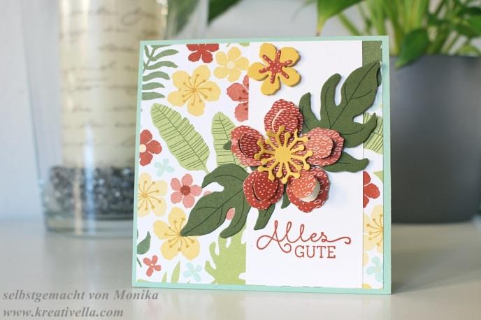 Frühjahr Sommer Katalog Stampin' Up! Botanischer Garten Designerpapier Sneak Peak Vorschau